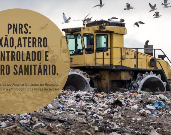 PNRS: Lixão, Aterro Controlado e Aterro Sanitário!