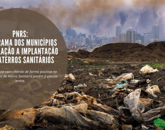 PNRS: A Situação Atual dos Munícipios em Relação Implantação do Aterro Sanitário
