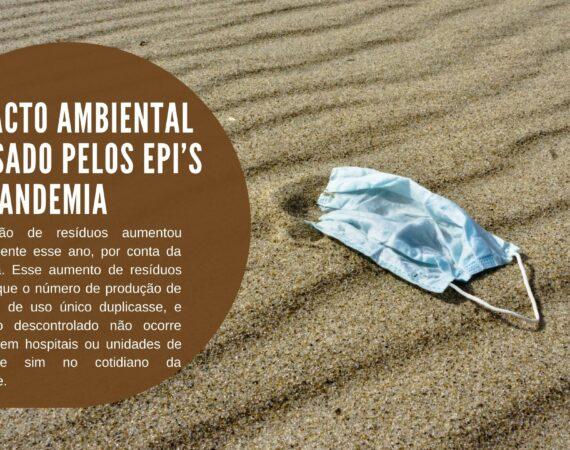 Impacto ambiental causado pelos EPI's da pandemia
